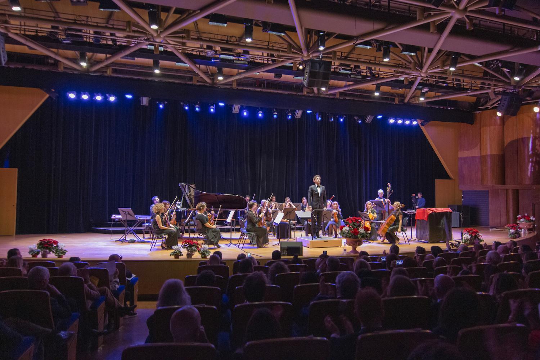 Tutto esaurito all'Auditorium Rainier III per la Festa di Natale del Comites