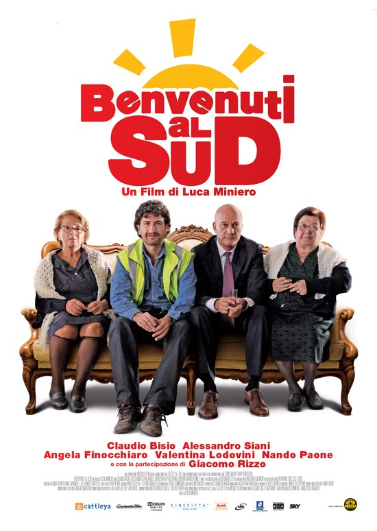 """AL LICEO FANB DI MONACO LA PROIEZIONE DEL FILM """"BENVENUTI AL SUD"""""""