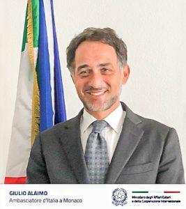 EZIO GREGGIO E IL COMITES DANNO IL BENVENUTO AL NUOVO AMBASCIATORE GIULIO ALAIMO